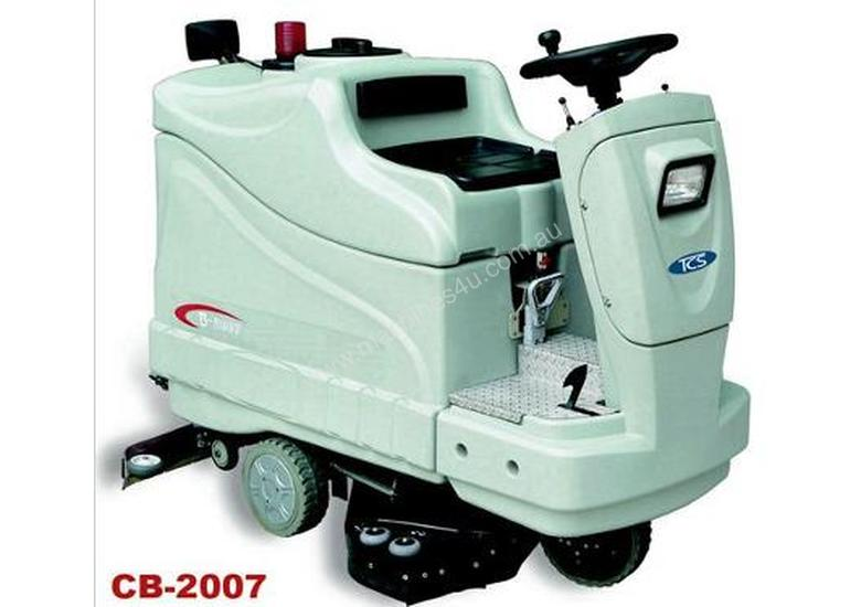 CB-2007 Ride on Scrubber