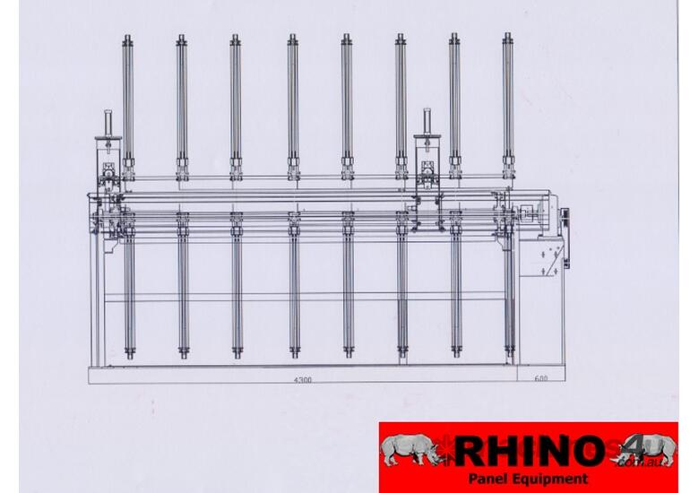 RHINO ROTARY DOOR ASSEMBLY SYSTEM *PRICE DROP*