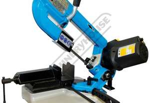 BS-5V Portable Swivel Head Metal Cutting Band Saw Mitre Cuts Up To 60º, Compact Design & Only 23kg
