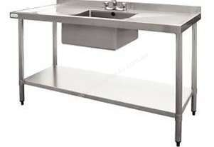 Stainless Steel Single Bowl Sink DN756 Vogue1500mm