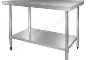 Stainless Steel Table with Splashback GJ509 Vogue