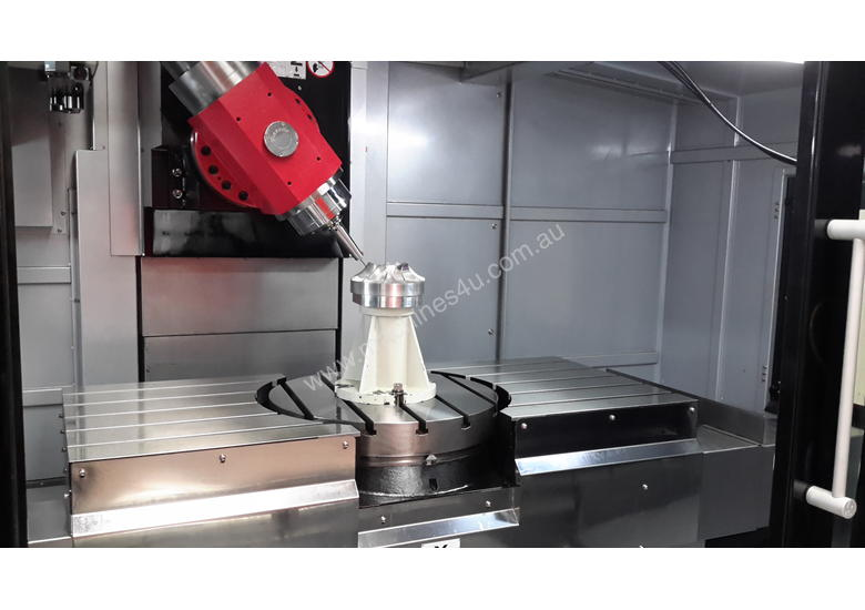 BX700 5 Axis Machining