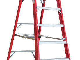 2.1m Fiberglass Platform Step Ladder