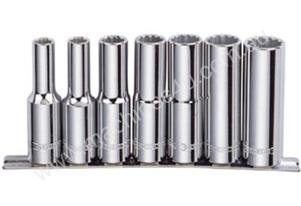 "7 PIECE 1/2"" DRIVE SOCKET SET - AF DEEP"