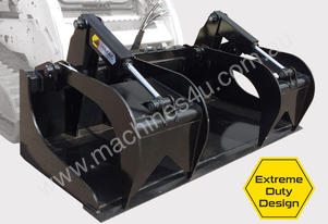 Skid Steer Demolition Grapple bucket