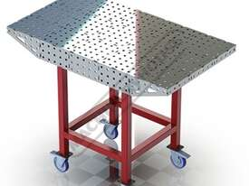 FR60120-M CertiFlat fabRack - Leg Kit Suits 600 x 1200mm fabBLOCK Welding Table Top 860mm Table Heig - picture2' - Click to enlarge