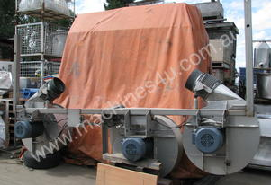 Car Wash Triple Blower Dryer