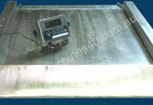 floor platform scale: large -