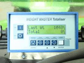 Forklift Scale: Weight Master Totaliser - picture0' - Click to enlarge