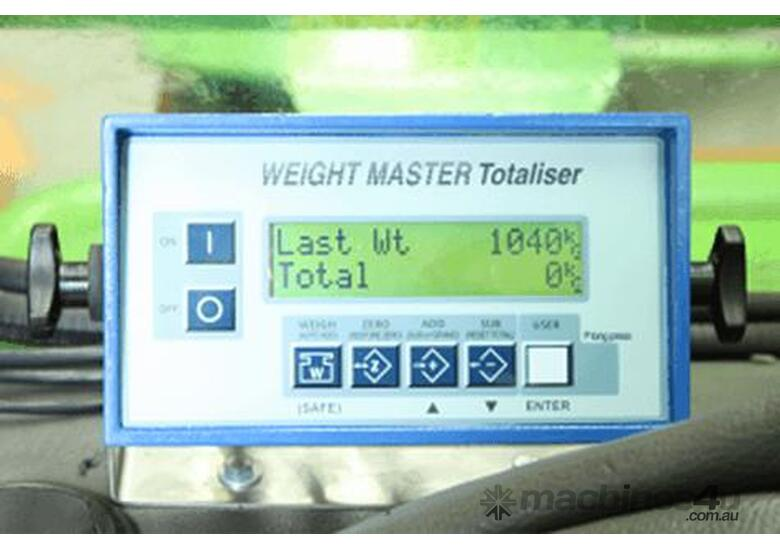 Forklift Scale: Weight Master Totaliser