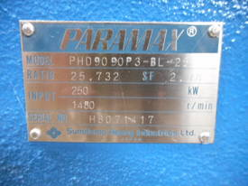 PARAMAX GEARBOX 25.7:1  - picture3' - Click to enlarge