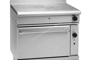 Waldorf 800 Series RN8110GC - 900mm Gas Target Top Convection Oven Range