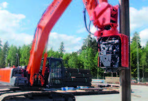 MOVAX SG-50V EXCAVATOR MOUNT PILE DRIVER (23-28T)