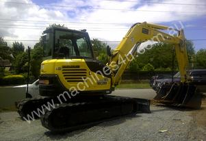 Yanmar 8T Excavators For Dry Hire