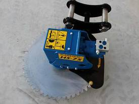 Slanetrac HS-75 Excavator Saw Head Attachment  - picture8' - Click to enlarge