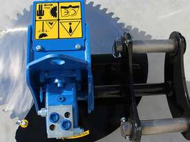Slanetrac HS-75 Excavator Saw Head Attachment  - picture13' - Click to enlarge