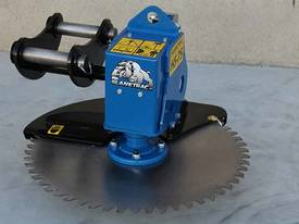 Slanetrac HS-75 Excavator Saw Head Attachment  - picture14' - Click to enlarge