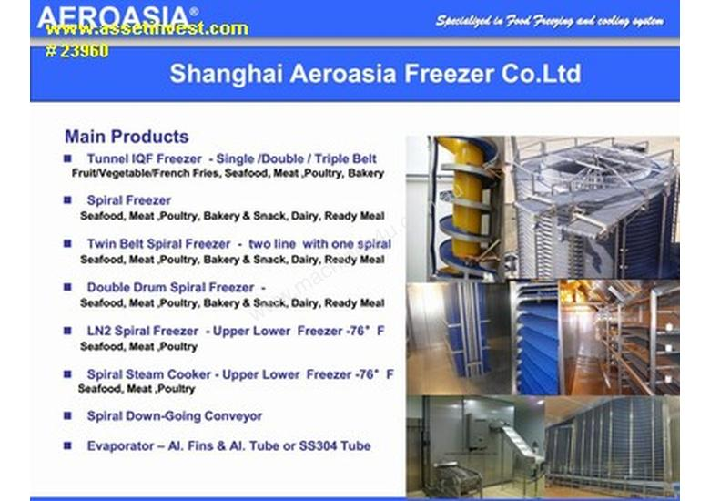 NEW COMPACT Spiral Freezers, Coolers, Spiral Conve