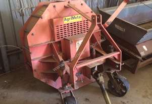 Agrimetal 3 point linkage PTO blower