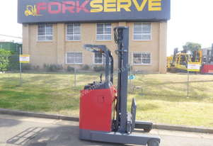 USED Nichiyu Electric Reach Truck - ALMOST BRAND NEW - OPTIONAL NEW BATTERY with 5 year warranty!