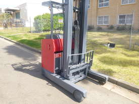 Refurbished Nichiyu Electric Reach Truck, 7.3 Metre lift, Battery with Warranty  - picture1' - Click to enlarge