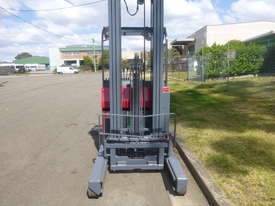 Refurbished Nichiyu Electric Reach Truck, 7.3 Metre lift, Battery with Warranty  - picture2' - Click to enlarge