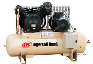 Ingersoll Rand 7100D15/12: 15hp 47cfm Reciprocating Air Compressor with 303L Tank