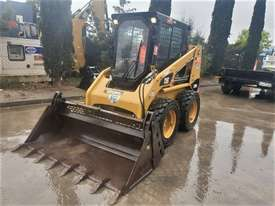 2018 CAT 226B-3 SKID STEER LOADER WITH LOW 200 HOURS - picture0' - Click to enlarge