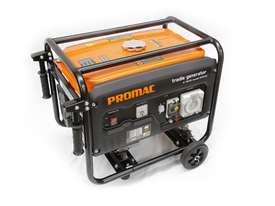PROMAC Torini PETROL Portable Tradie Generator *4 kVA (Model- GT040) - picture0' - Click to enlarge