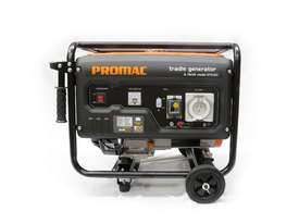 PROMAC Torini PETROL Portable Tradie Generator *4 kVA (Model- GT040) - picture1' - Click to enlarge