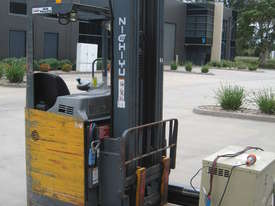 NICHIYU ELECTRIC SIDE SHIFTER FORKLIFT WITH REACH 6.5mt LIFT - picture0' - Click to enlarge