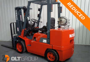Nissan CUGJ02F35U 3.5 ton forklift for sale cushion tyre forklift with container mast