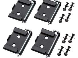 Rockler Quick-Release Workbench Caster Plates, 4-Pack - picture1' - Click to enlarge