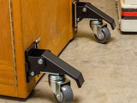 Rockler Quick-Release Workbench Caster Plates, 4-Pack - picture4' - Click to enlarge