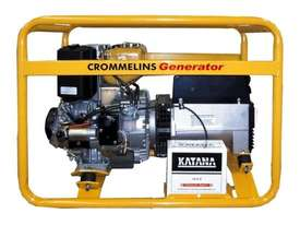 Crommelins 3 in 1 5kVA Welder Generator Workcover Approved - picture1' - Click to enlarge