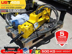 UBT45S Silence Hydraulic Hammer Bobcat loaders Rock Breaker ATTUBT - picture0' - Click to enlarge