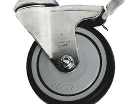 42003 - GREY INSTITUTIONAL CASTOR(SWIVEL/BRAKE) - picture0' - Click to enlarge