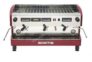 Boema Deluxe D-3V20A 3 Group Volumetric Espresso Machine
