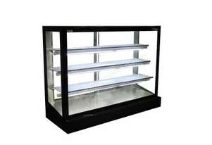 Mitchel Refrigeration1800mm Straight Glass Heated Display