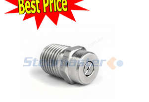 1/4? MEG 15045 Pressure Washer Stainless Steel Nozzle High Pressure Water Cleaners