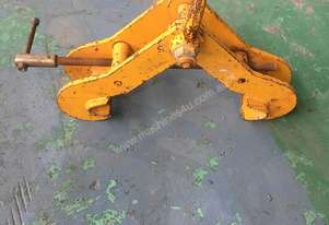 Superclamp Girder Beam Clamp 6 ton SWL 203 - 457 mm Industrial Quality