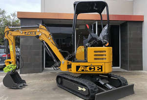 NEW 2018 ACE AE20K 2.0T MINI EXCAVATOR