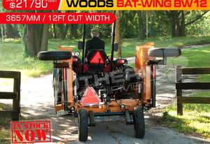 12' foot BW12 Bat-Wing slasher 144