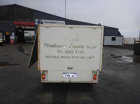 1990 Custom Made Single Axle Enclosed Trailer with Hydraulic Fitting Crimper IN AUCTION - picture3' - Click to enlarge