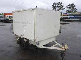 1990 Custom Made Single Axle Enclosed Trailer with Hydraulic Fitting Crimper IN AUCTION - picture6' - Click to enlarge