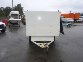 1990 Custom Made Single Axle Enclosed Trailer with Hydraulic Fitting Crimper IN AUCTION - picture7' - Click to enlarge