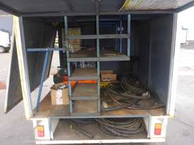 1990 Custom Made Single Axle Enclosed Trailer with Hydraulic Fitting Crimper IN AUCTION - picture9' - Click to enlarge