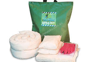 Organic Oil & Fuel Spill Kit. 69L absorbent capacity. Portable canvacon bag. Ideal for trucks & vans