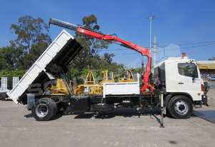 FG1J Tipper Truck with FASS crane fitted