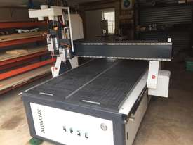 CNC Router with Twin Spindles/ Vacuum Table/ Rotary Axis - picture0' - Click to enlarge